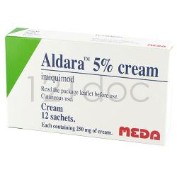 Aldara 5% Cream 250mg x 12